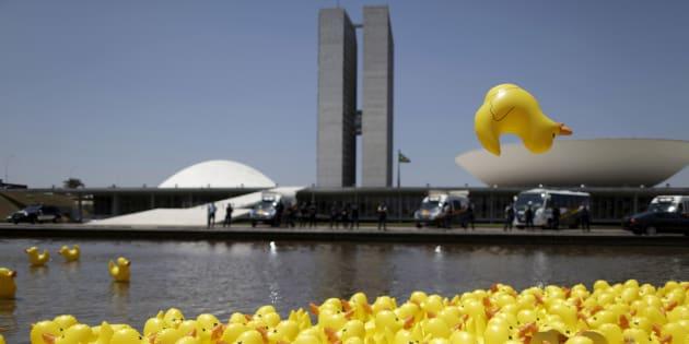 Pato da Federação das Indústrias do Estado de São Paulo (Fiesp) foi um dos ícones dos protestos contra o governo da ex-presidente Dilma Rousseff.