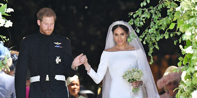 How the Royal Wedding Dress Came Together -- From Meghan Markle&