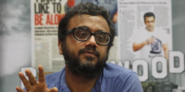 MUMBAI, INDIA - APRIL 1: (Editors Note: This is an exclusive shoot of Hindustan Times) Bollywood film director Dibakar Banerjee at the Fever office for the promotion of his film Detective Byomkesh Bakshy on April 1, 2015 in Mumbai, India. (Photo by Vidya Subramanian/Hindustan Times via Getty Images)