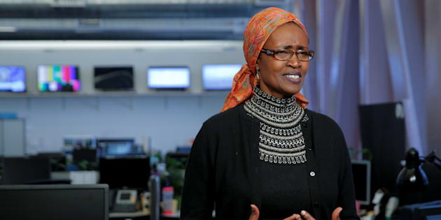 La direttrice di Oxfam International Winnie Baynyima