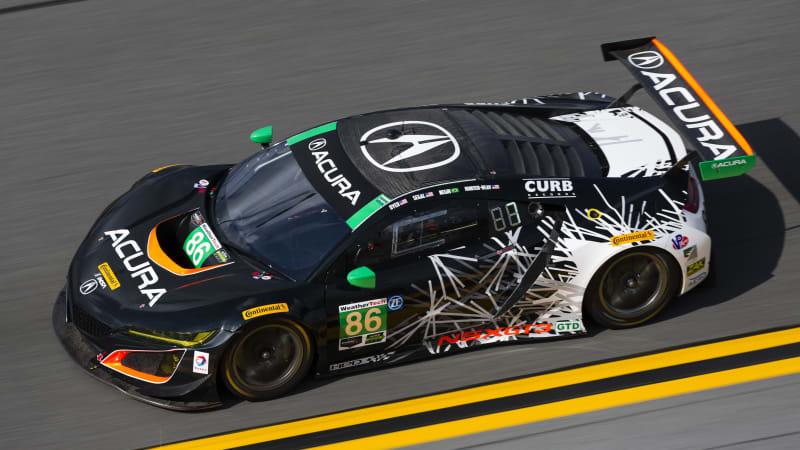 acura nsx gt3 non-hybrid racecar on sale soon - autoblog