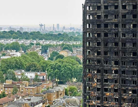 Police: Deadly London tower blaze began in freezer