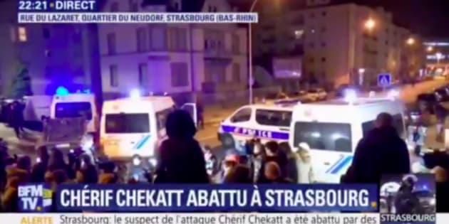 Strasbourg: BFMTV s'excuse après avoir diffusé