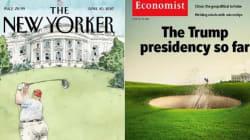 Les premiers mois de Trump au pouvoir résumés en une partie de