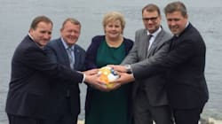 Donald Trump Mocked By Nordic Prime Ministers Over 'Orb'