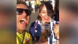 El vídeo de un colombiano burlándose de dos japonesas en el Mundial llena de ira