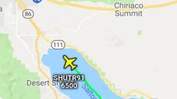 アメリカ海軍が「ひわいな飛行機雲」を謝罪。パイロットがいたずら、飛行経路で描いたものは...