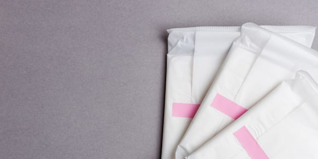 Les serviettes hygiéniques de cette internaute lui ont valu un avertissement au travail