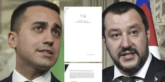 En Italie, la sortie de l'euro prévue par un brouillon d'un contrat de gouvernement entre le M5S et la Ligue.