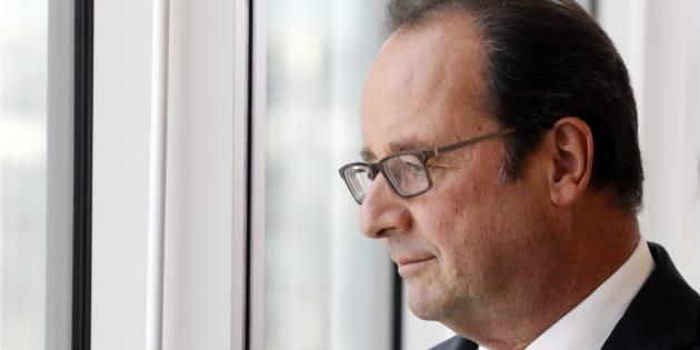 Le Président François Hollande à l'Université de Jussieu, Paris, 29 Septembre 2016.
