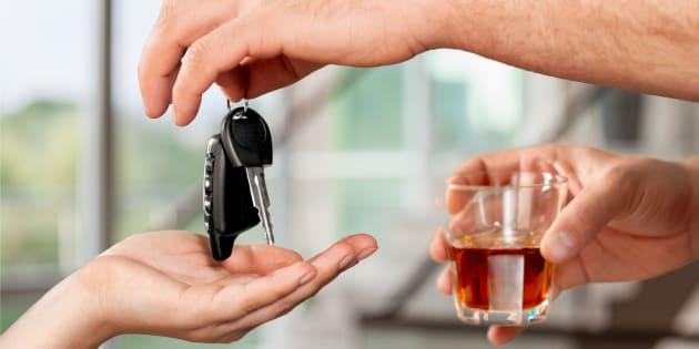 L'alcool est impliqué dans 30% des accidents mortels en France, en 2017.