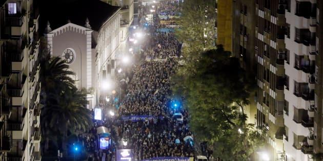 Miles de valencianos salieron a la calle el pasado 18 de noviembre para reclamar una financiación autonómica justa.