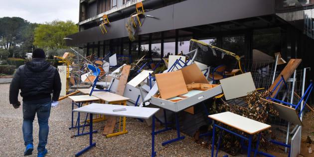 Universités: le campus de Paul Valéry évacuée par les forces de l'ordre, mais déjà