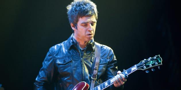 Noel Gallagher durante un concierto en Berlín (Alemania).