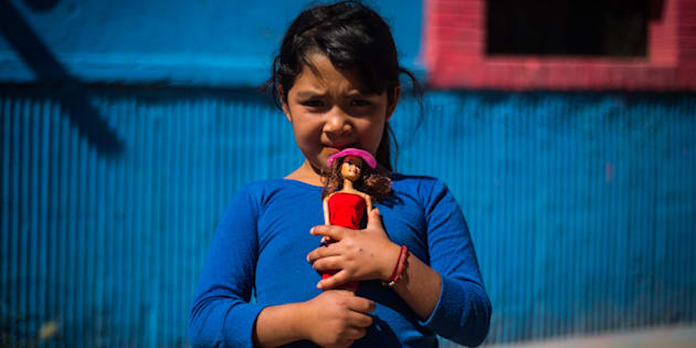 El Día del Niño no es para todos los infantes un día para celebrar y menos para la familia Pacheco, quienes habitan la comunidad de Tacoaleche en el municipio conurbado de Guadalupe al sur de la capital del estado y que cuenta con más de 8 mil habitantes, en Guadalupe, Zacatecas, el 30 de abril de 2018.
