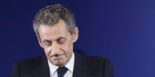 Nicolas Sarkozy à Paris le 20 novembre 2016.