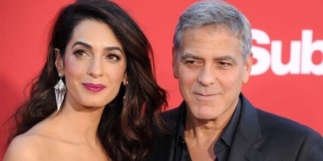 Amal et George Clooney, Oprah, Spielberg... Les dons énormes des stars américaines aux anti-armes à feu
