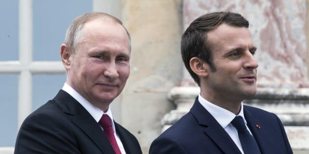 Russia-Francia: Macron da oggi a San Pietroburgo, previsti colloqui con Putin