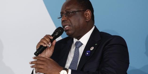 Le président du Sénégal, Macky Sall.