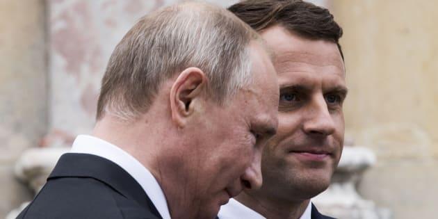 Rusia usó Facebook para espiar a Macron