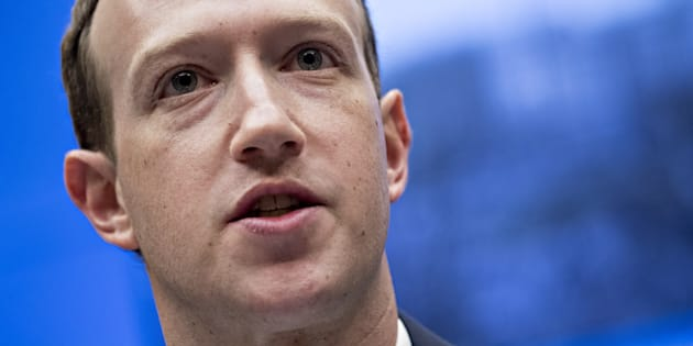Mark Zuckerberg, CEO and founder of Facebook Inc., speaks during a House Energy and Commerce Committee hearing in Washington, D.C., Wed. April 11. Facebook is releasing detailed guidelines on what is forbidden on its social network.