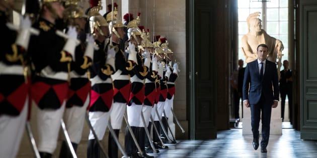 Le Parlement réuni en Congrès à Versailles le 9 juillet, Macron tient sa promesse