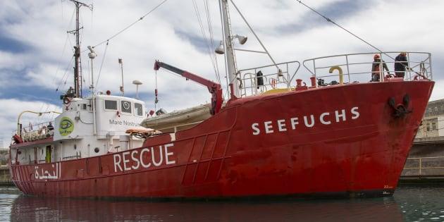 Risultati immagini per nave Seefuchs