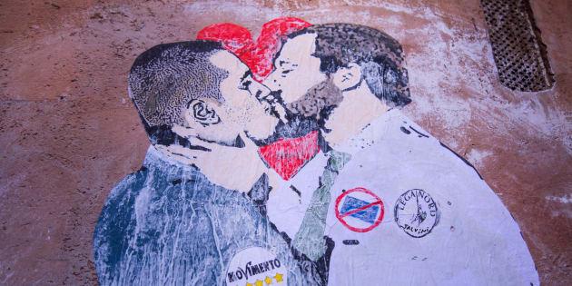 Salvini Di Maio iniziano la campagna elettorale sulla pelle