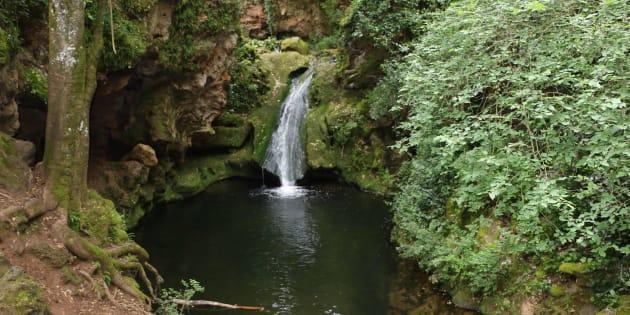 Paraje natural de los Baños de Popea, en Córdoba, donde murió uno de los adolescentes.