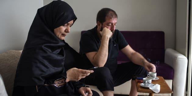 Aisar y Rania, refugiados sirios en Turquía.