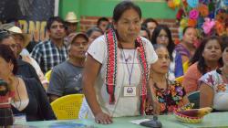 Indígenas y zapatistas designan a su candidata presidencial para