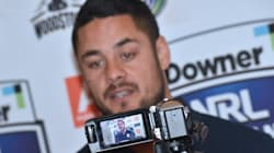 Jarryd Hayne In Awkward Phone Porn Moment At School