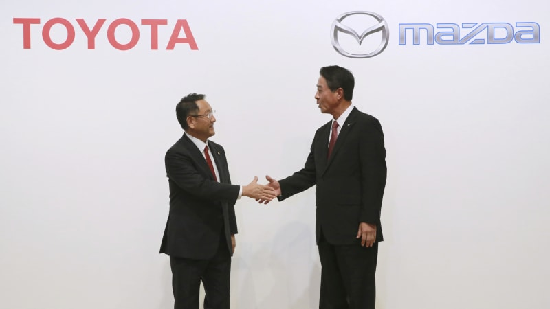 Toyota will build new SUV at Alabama plant it's building with Mazda