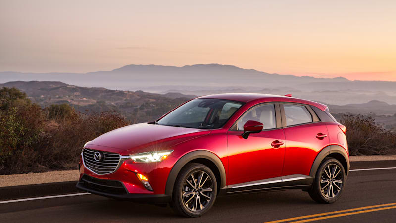 mazda3 five-door vs. mazda cx-3 - autoblog