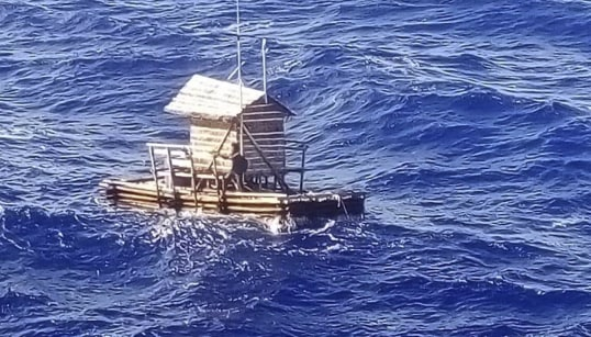 Indonesian Teen Rescued After 7 Weeks Adrift At