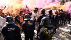 24 blessés après des violences entre une manifestation d'indépendantistes et une de policiers à