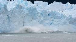 Un énorme glacier sur le point de se rompre en