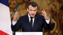 Macron prepara una ley contra las noticias