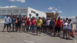 Dos detenidos y cargas en la huelga de Amazon en España, con un seguimiento del