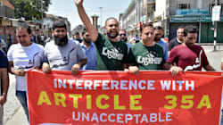 Supreme Court Adjourns Hearing Against Article 35A Till