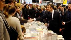 Macron inaugure le Salon du Livre en ignorant le pavillon