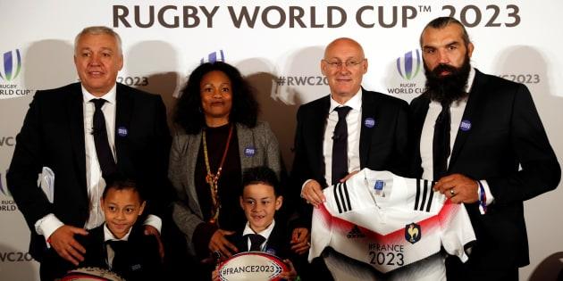 """La France accusée d'""""exploiter"""" les enfants de Jonah Lomu en vue du Mondial 2023."""