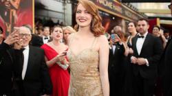 Ve el 'photobomb' de Justin Timberlake a Emma Stone en los