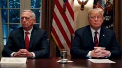 Démission du ministre de la Défense de Trump après sa décision de quitter la