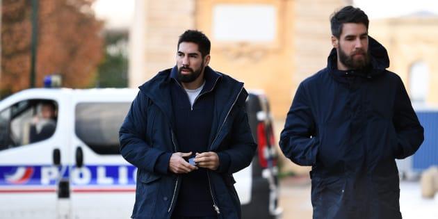 Nikola et Luka Karabatic à Montpellier le 24 novembre 2016.