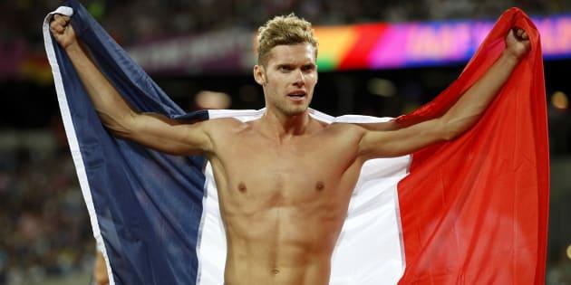 Kévin Mayer champion du monde du décathlon à Londres