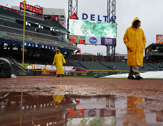 Rain threatens even more MLB game postponements