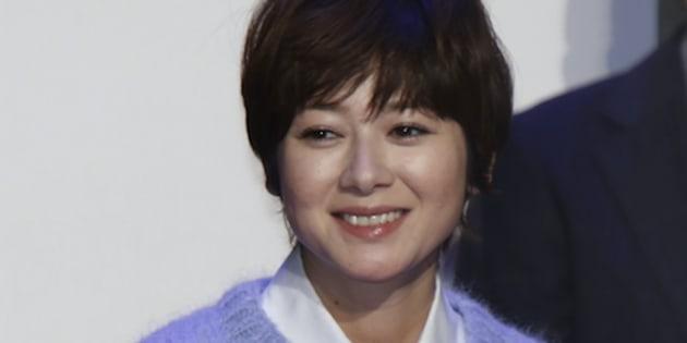 真木よう子(2015年1月7日撮影)