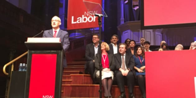 Luke Foley has addressed the NSW Labor conference.