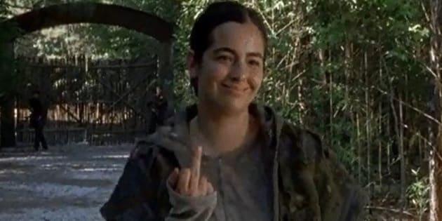 """Tara de """"The Walking Dead"""" remballe sèchement les trolls après des moqueries sur son physique"""